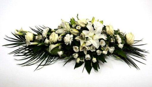 almohadon funerario para tanatorio