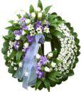 enviar corona funeraria paz
