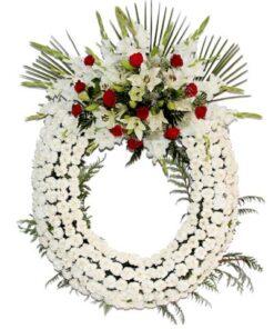 Mandar Corona funeraria descanso eterno
