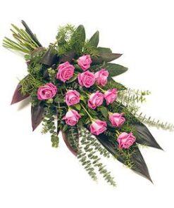 Palma funeraria Rosadas